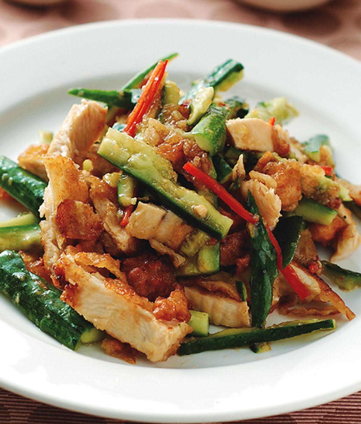 食譜:黃瓜拌雞排