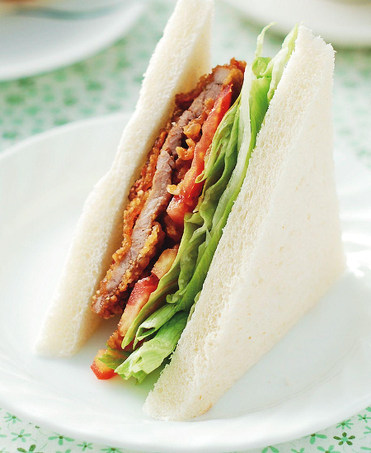 食譜:豬排三明治