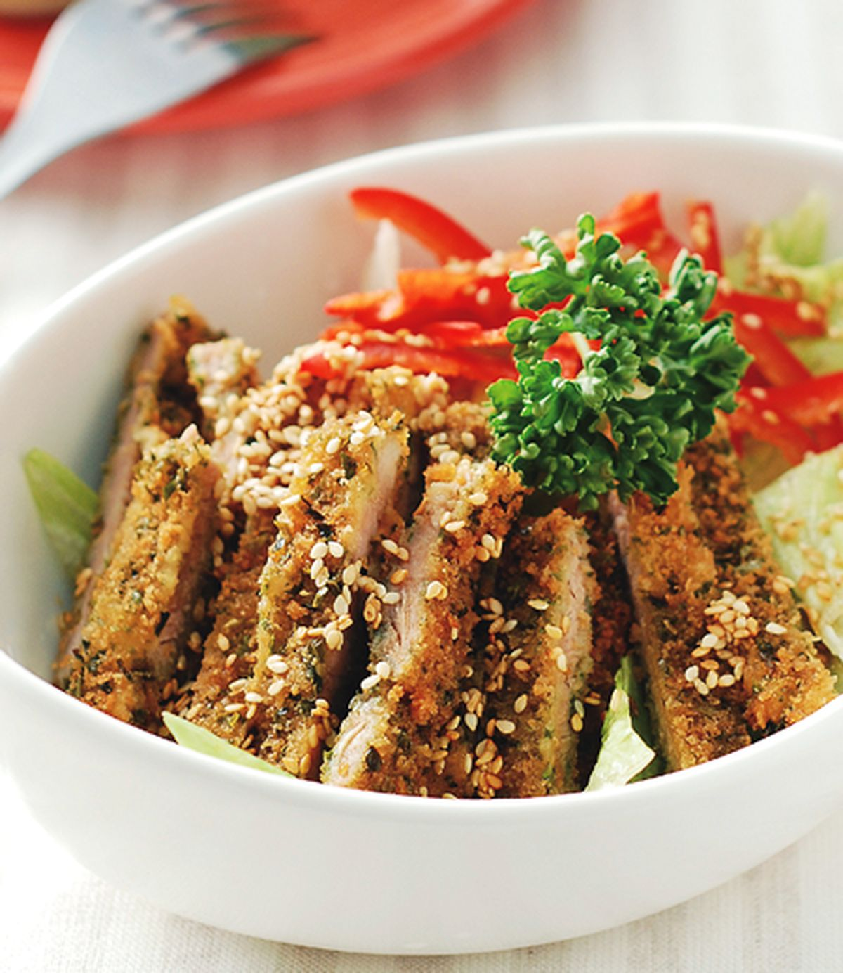 食譜:日式涼拌豬排