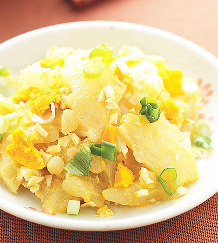 食譜:鹹蛋苦瓜(6)