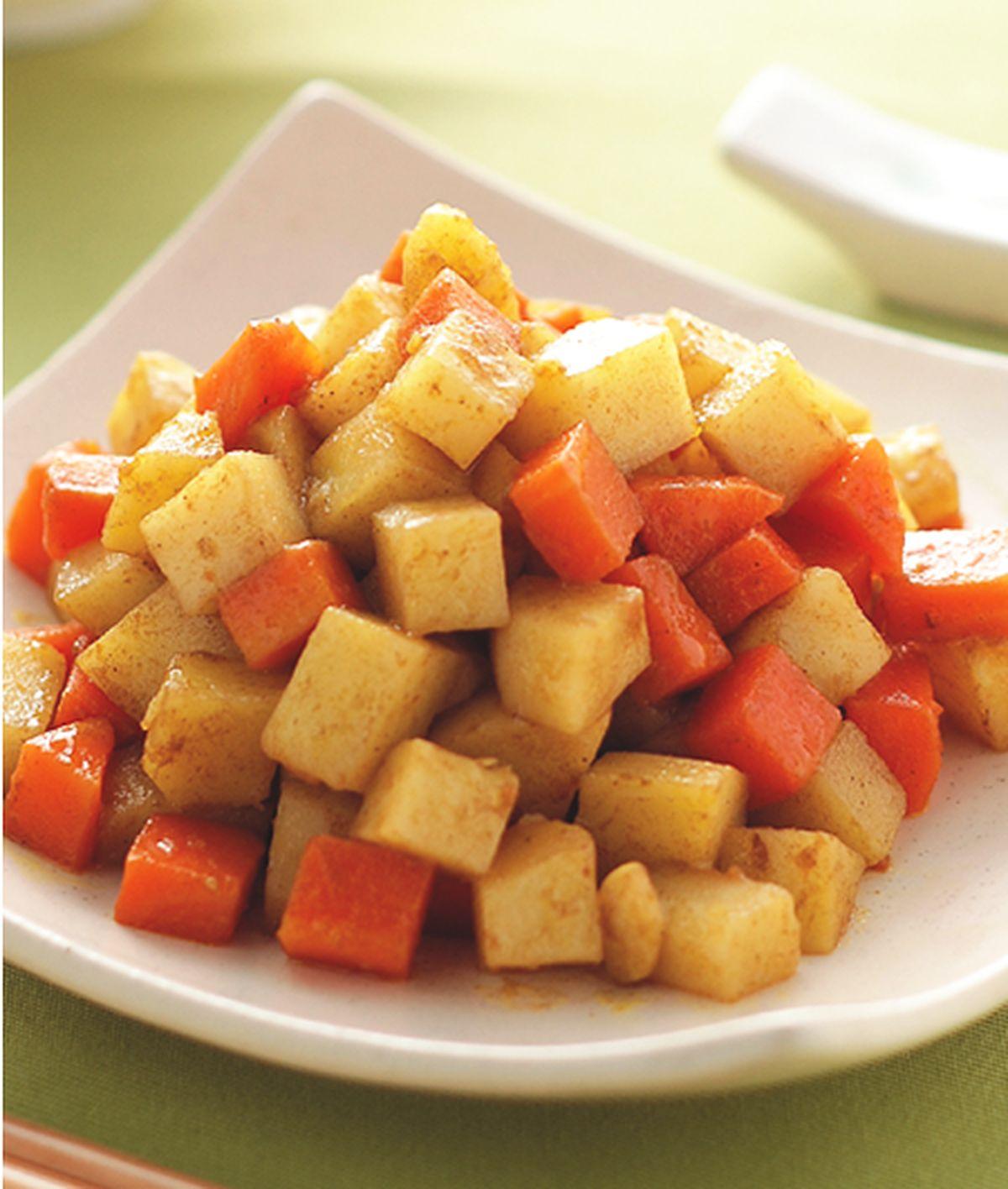 食譜:蔬菜咖哩(1)