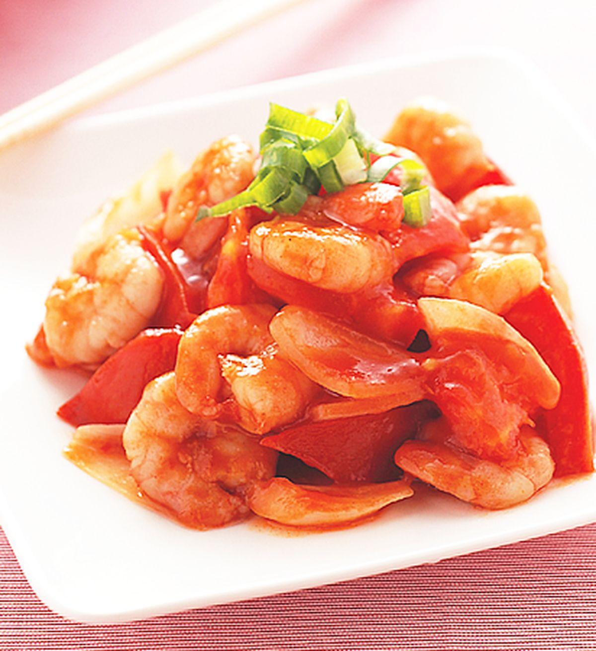 食譜:茄汁蝦仁