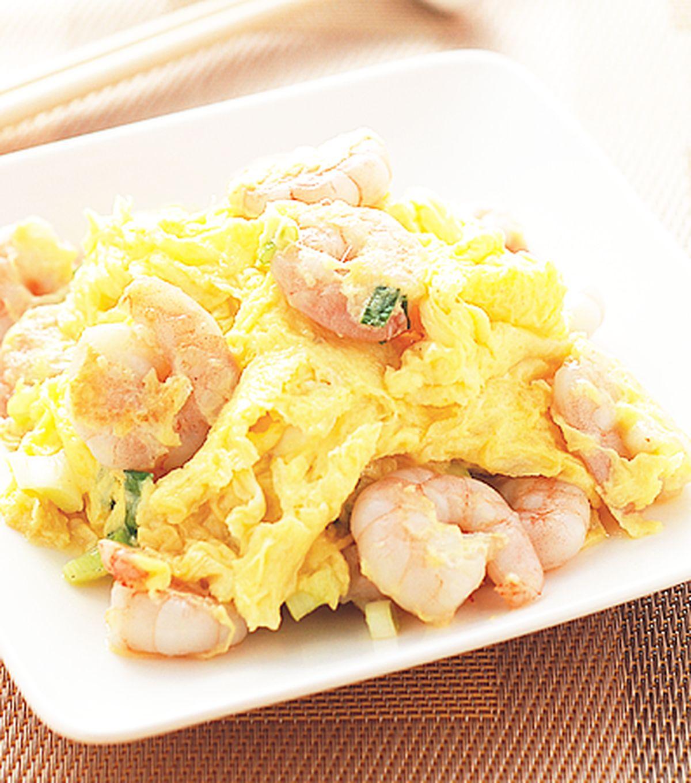 食譜:滑蛋蝦仁(1)