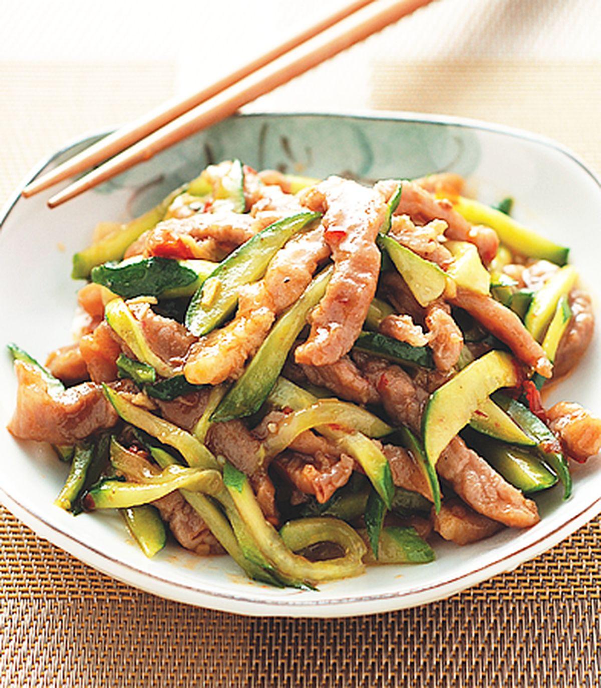 食譜:魚香肉絲