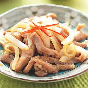 洋蔥炒肉絲