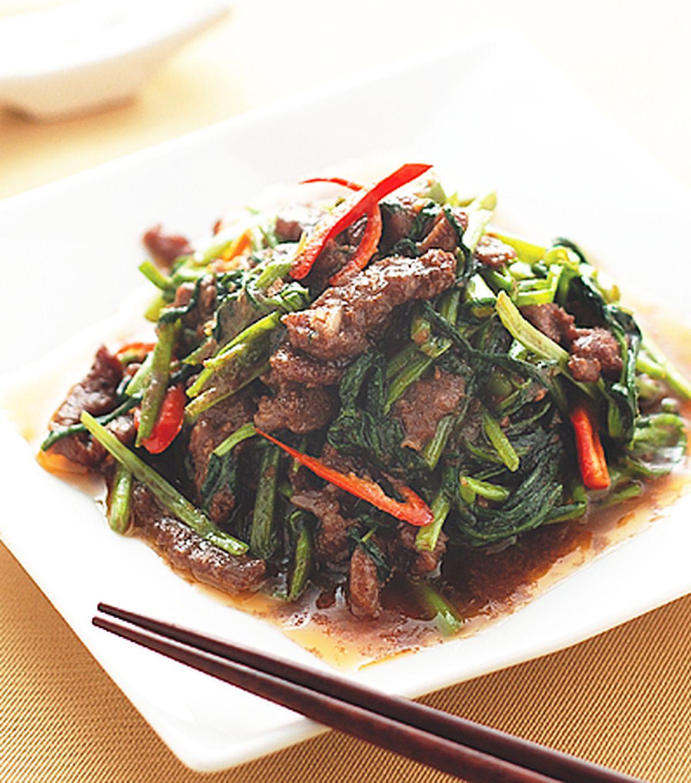 食譜:沙茶牛肉絲