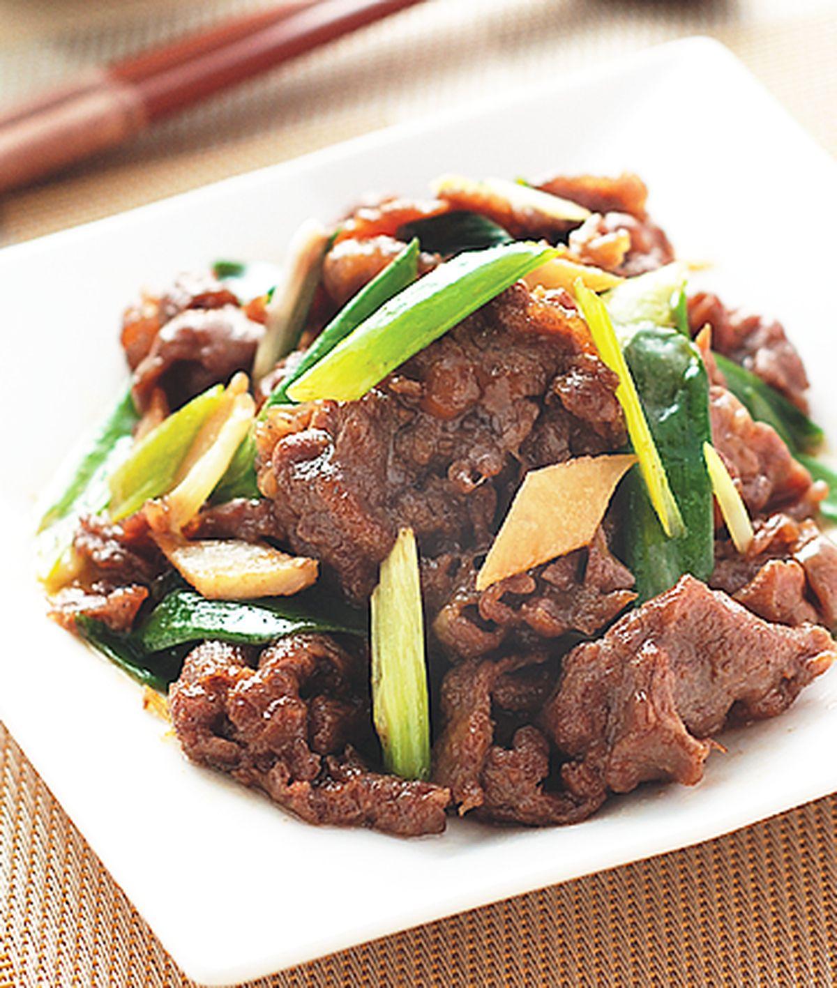 食譜:蔥爆牛肉(8)