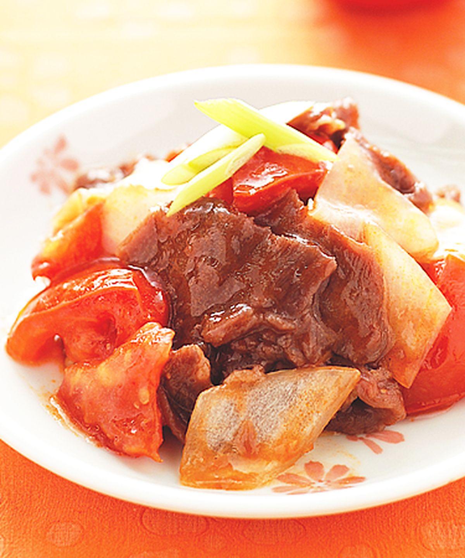 食譜:蕃茄牛肉