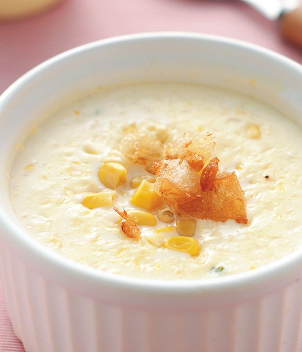 食譜:奶油玉米湯