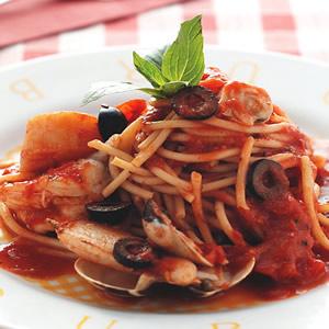 海鮮橄欖茄汁義大利麵