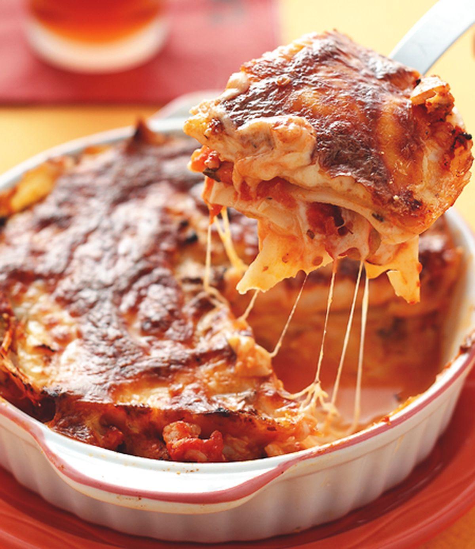 食譜:鮮蝦海鮮千層麵