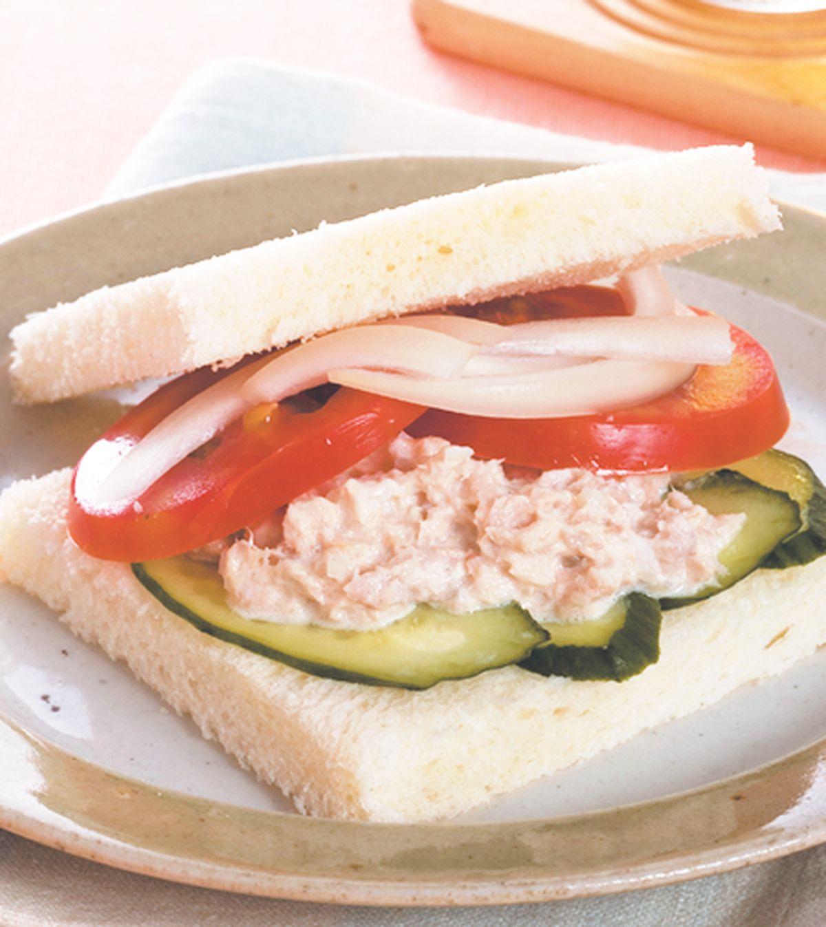 食譜:鮪魚三明治(2)