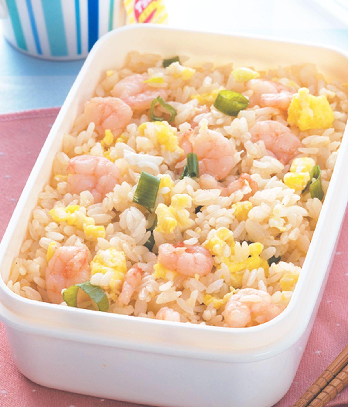 食譜:蝦仁炒飯