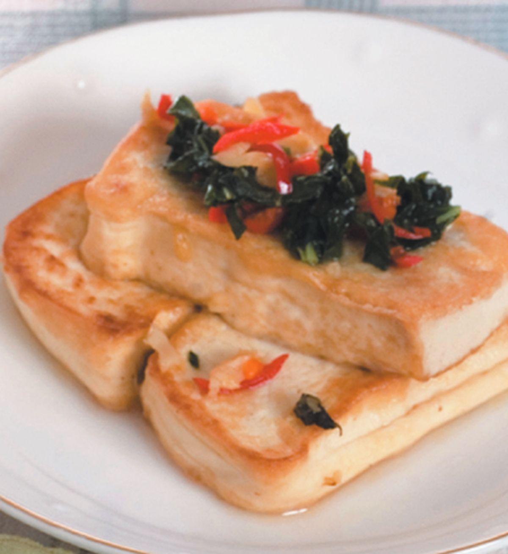 食譜:香煎豆腐(1)