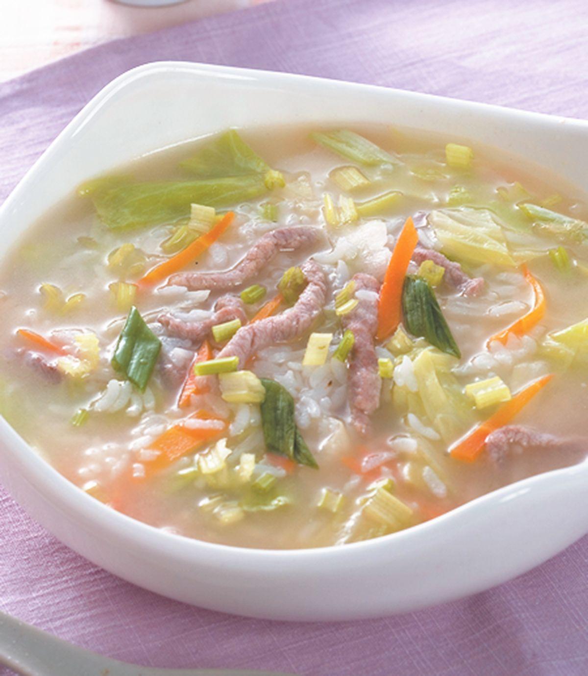 食譜:蔬菜鹹粥