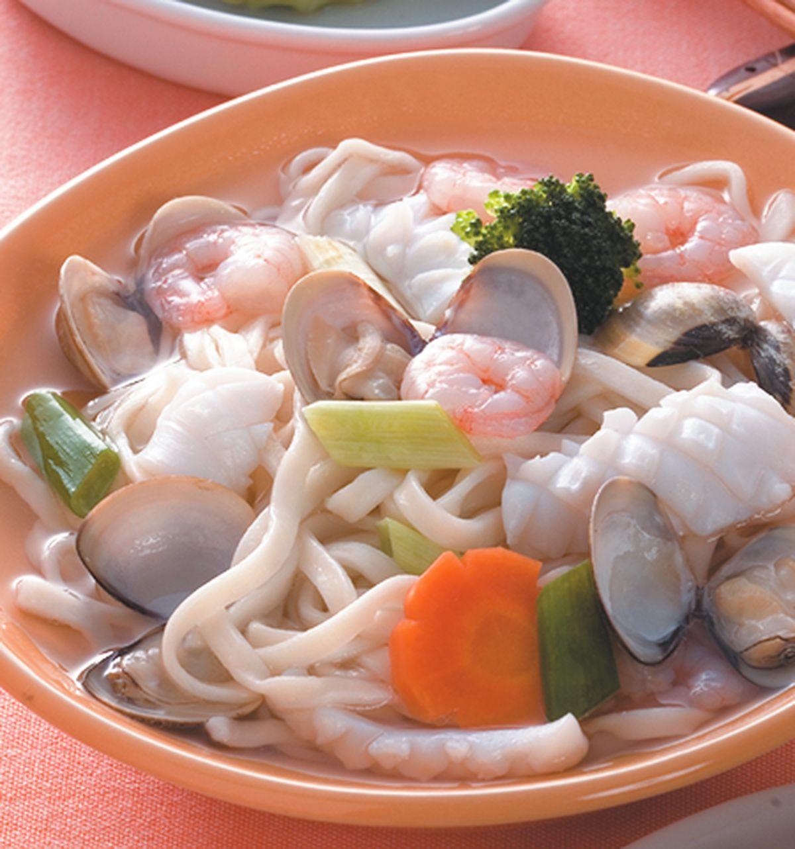 食譜:海鮮湯麵(1)