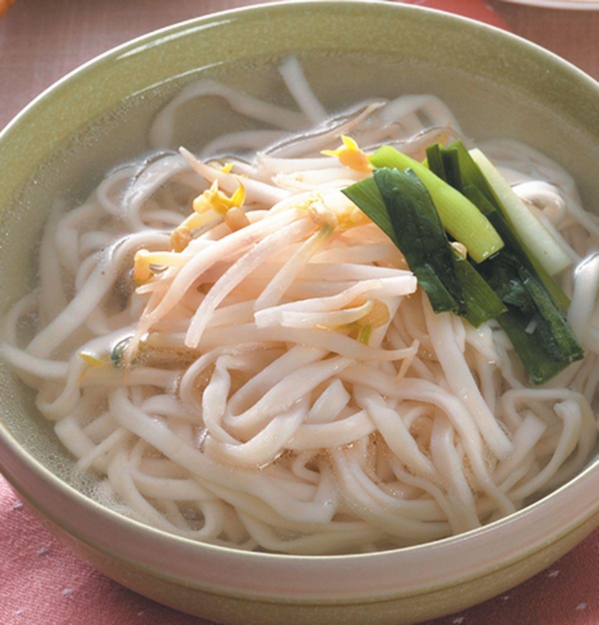 食譜:陽春麵(1)
