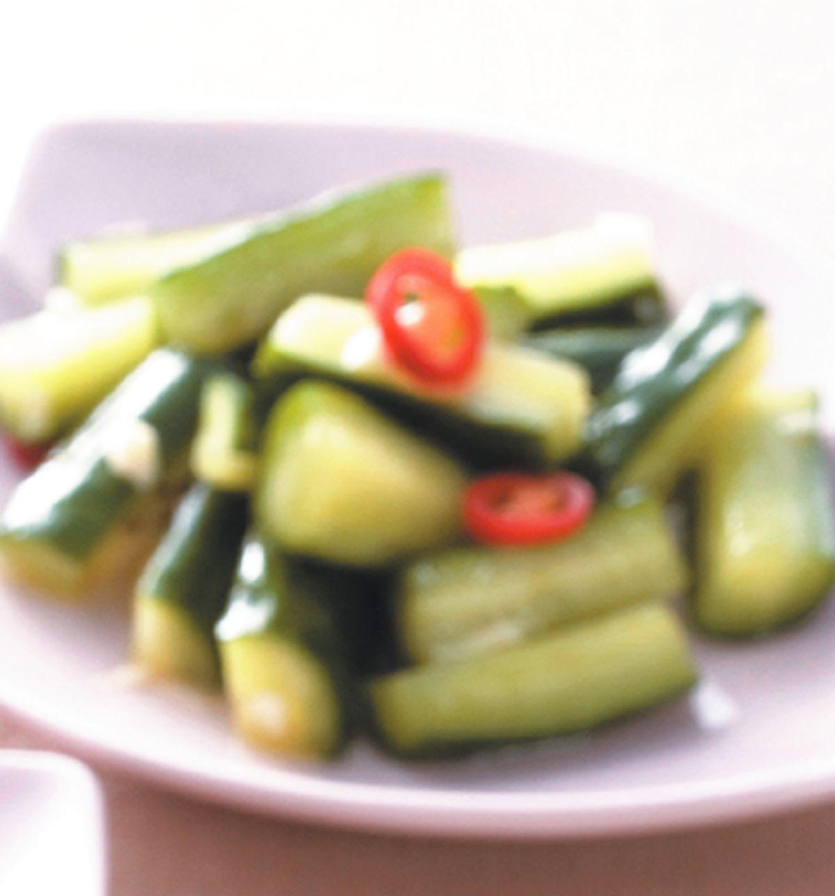 食譜:涼拌小黃瓜