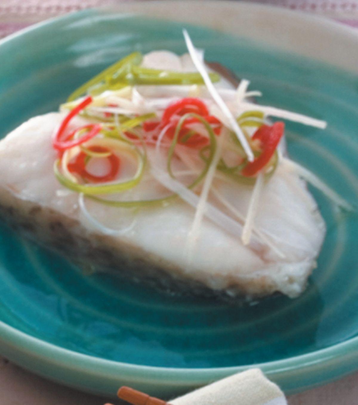 食譜:清蒸鱈魚(1)