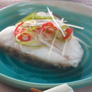 清蒸鱈魚(1)