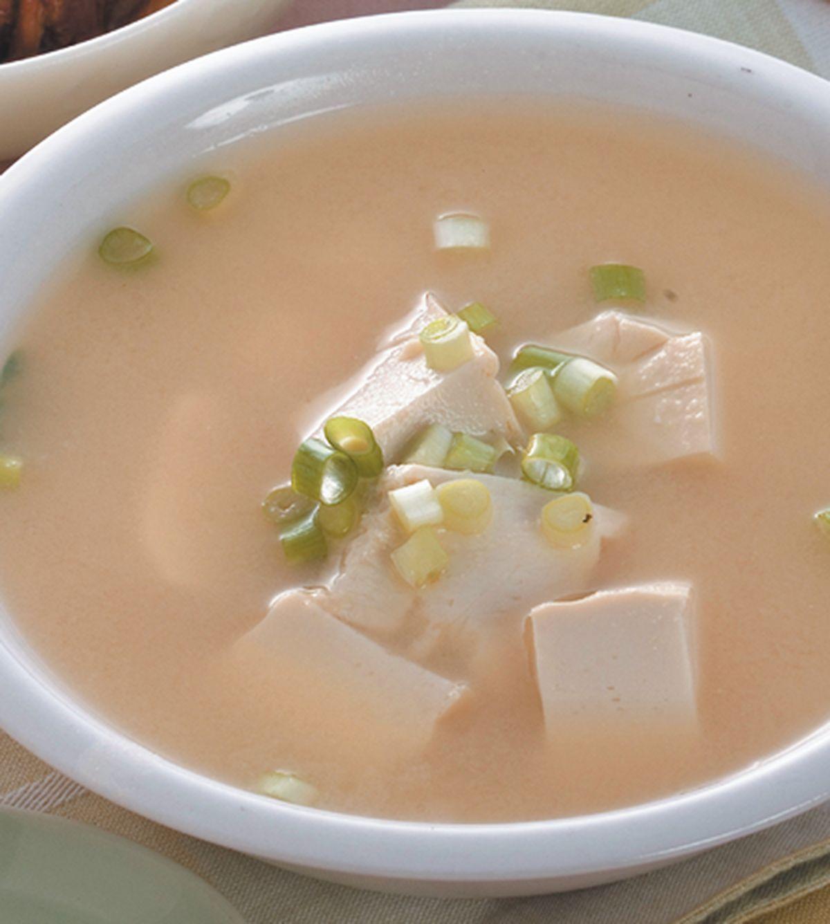 食譜:味噌豆腐湯