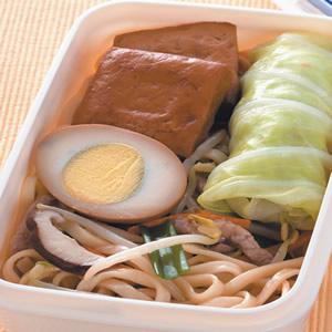 肉絲炒麵餐盒