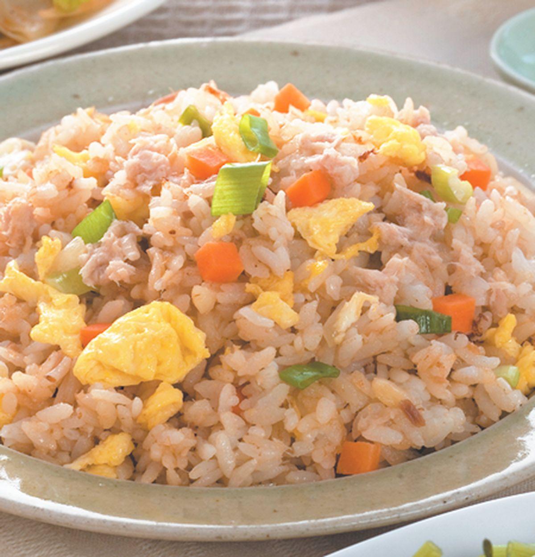 食譜:鮪魚炒飯