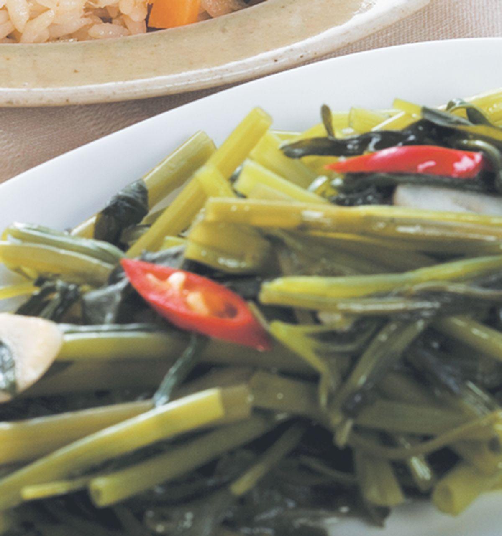 食譜:清炒空心菜(2)