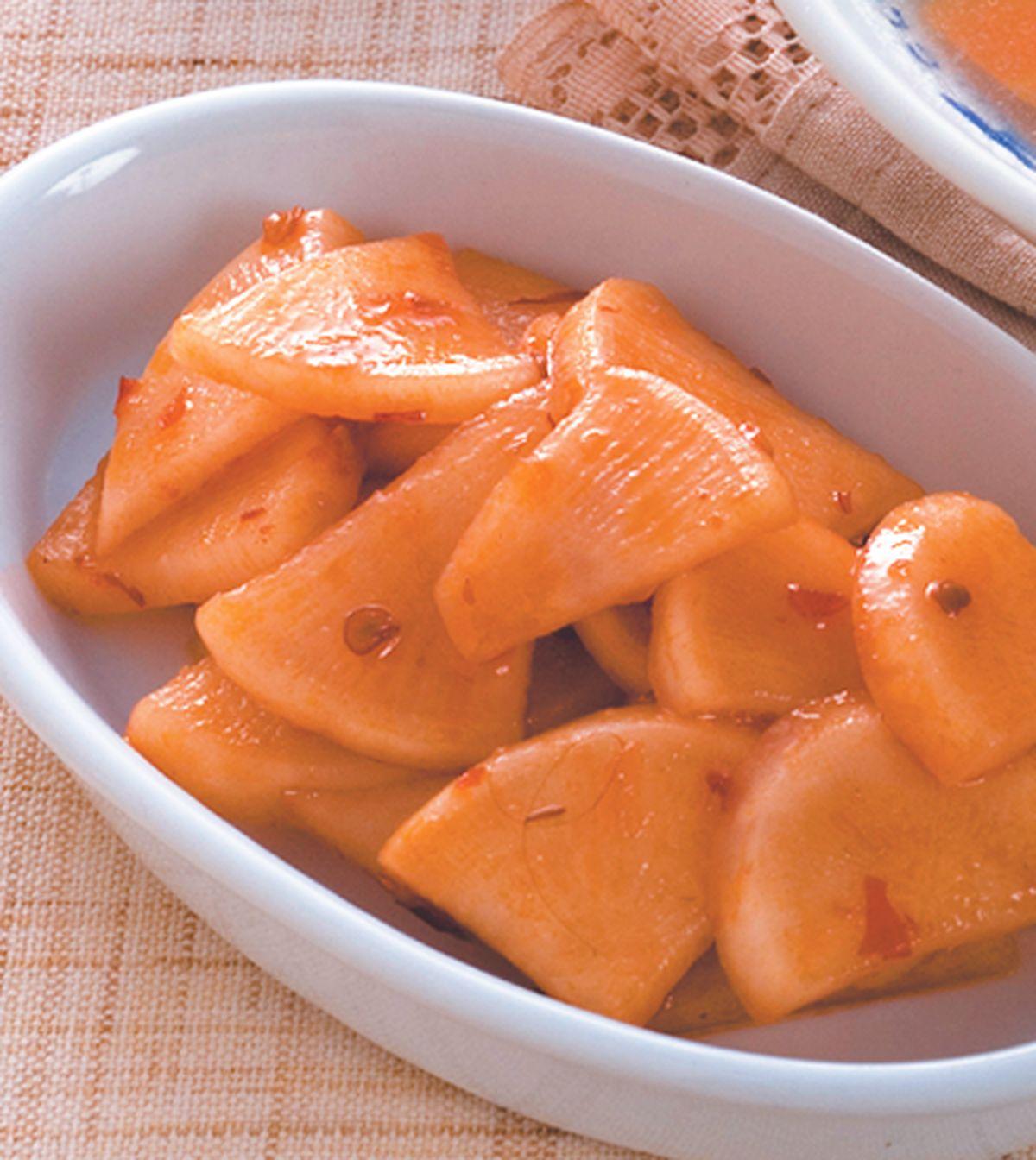 食譜:開胃辣羅蔔片