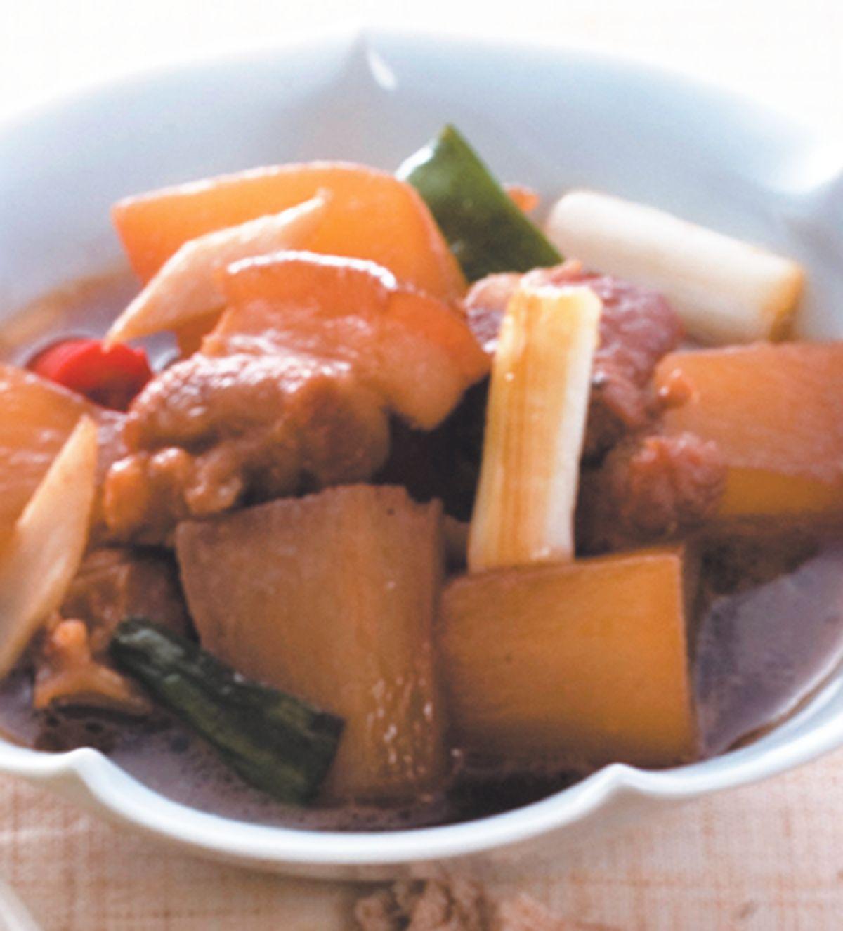 食譜:蘿蔔燒肉(1)
