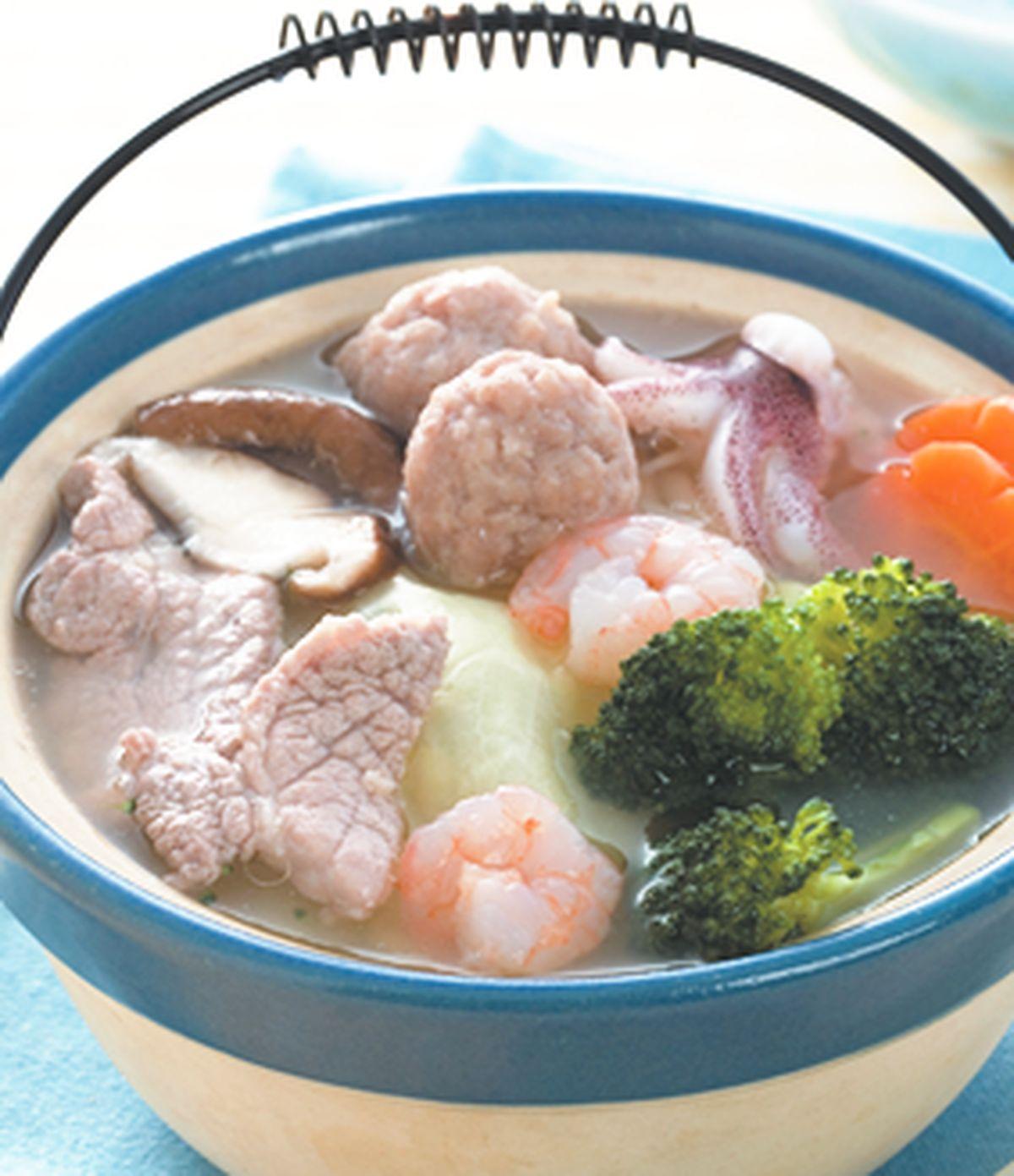 食譜:什錦味噌小火鍋