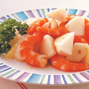 梅醬竹筍蝦