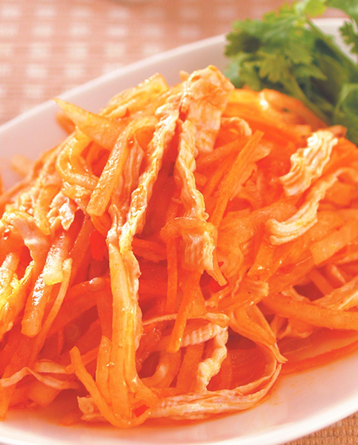 食譜:雞絲蘿蔔