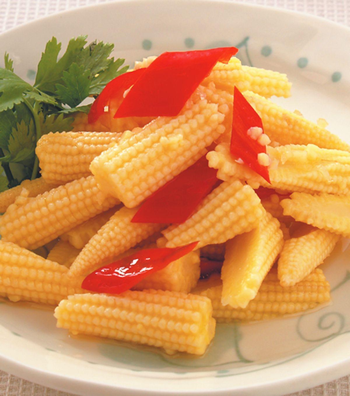 食譜:涼拌玉米筍