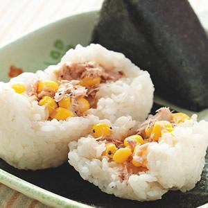 玉米鮪魚飯糰