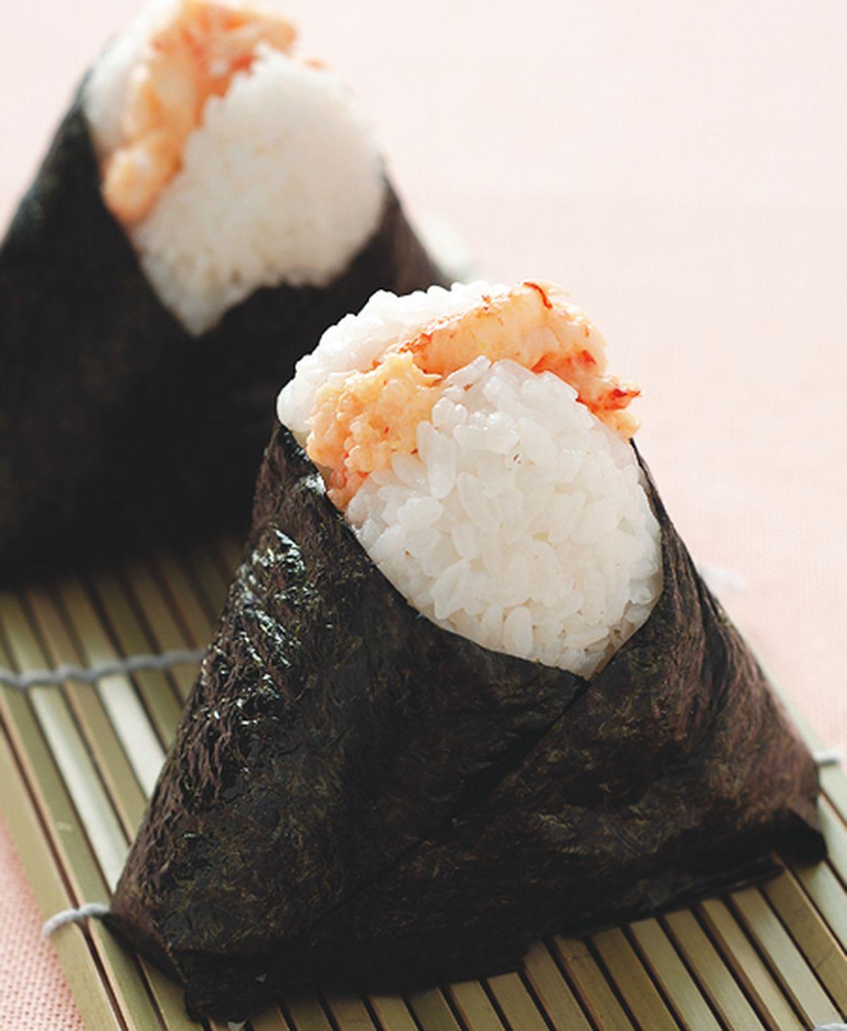 食譜:蟹肉沙拉飯糰