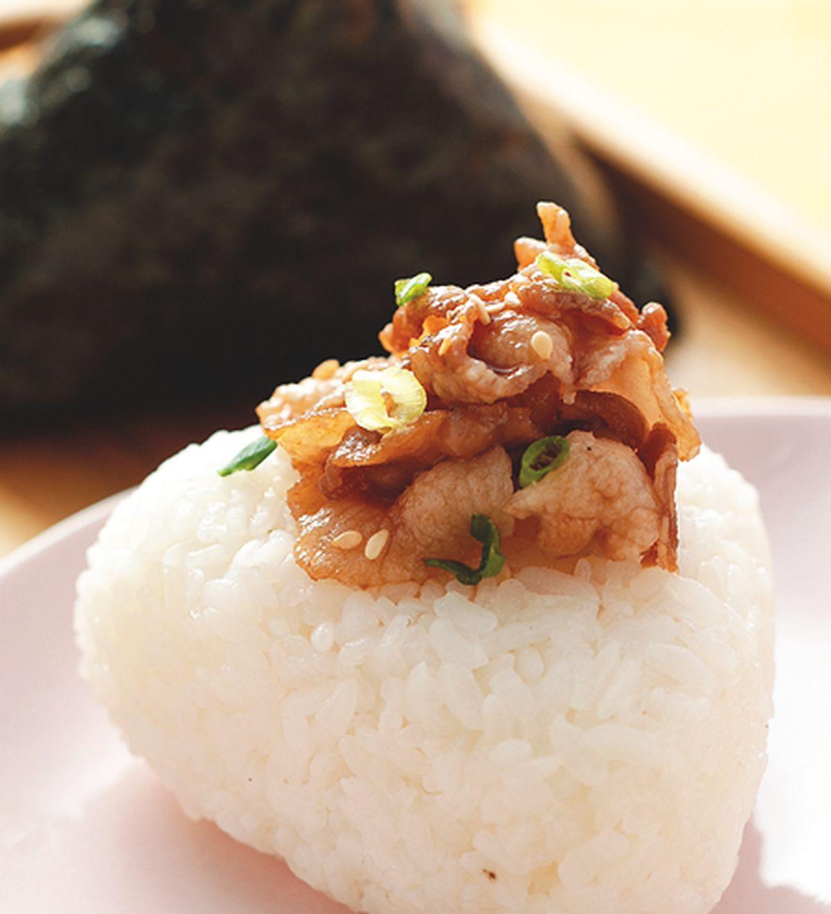 食譜:日式燒肉飯糰