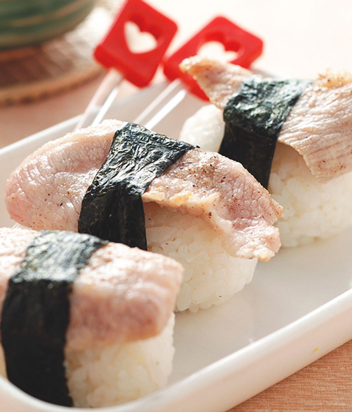 食譜:松阪豬肉飯糰