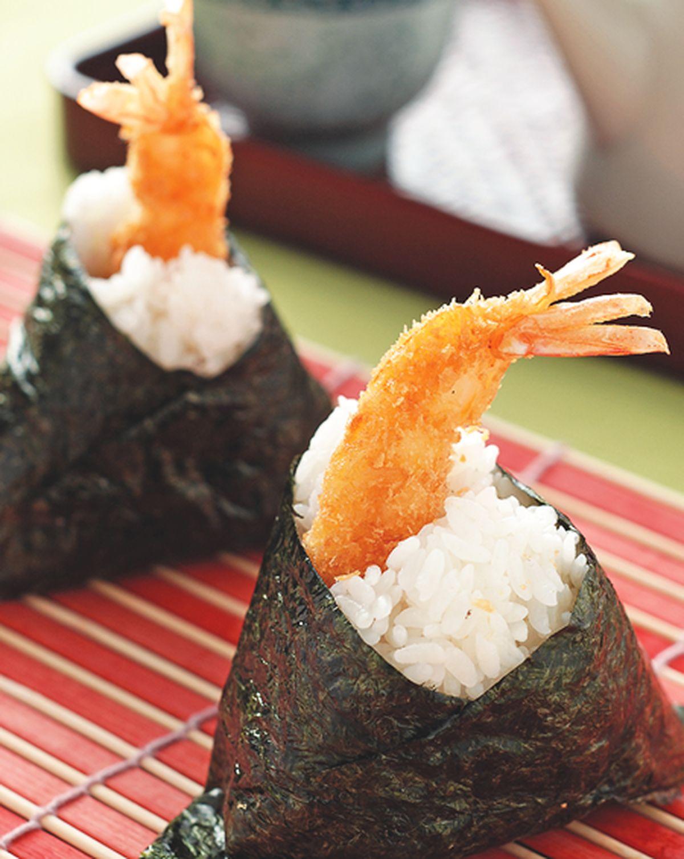 食譜:炸蝦飯糰(1)