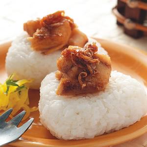 醬燒海鱺魚飯糰