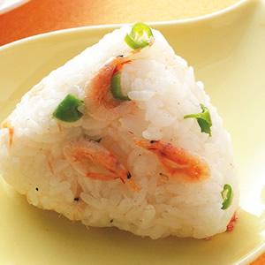 櫻花蝦飯糰