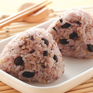 五榖黑豆飯糰