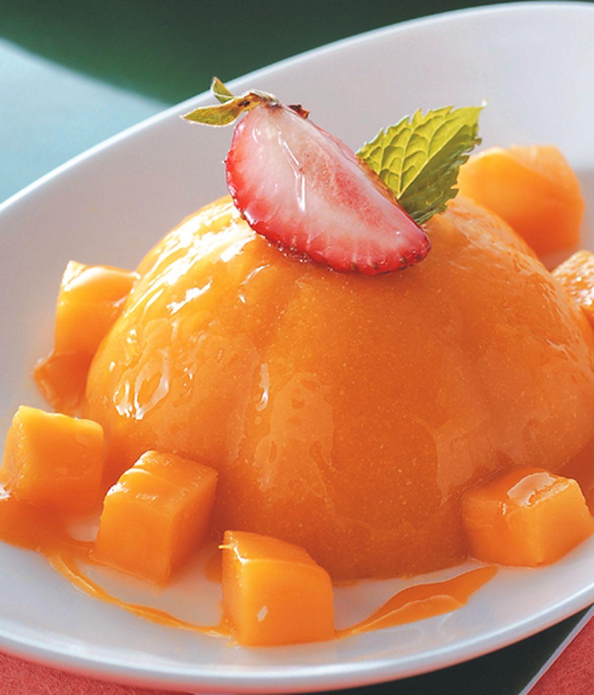 食譜:芒果布丁(2)