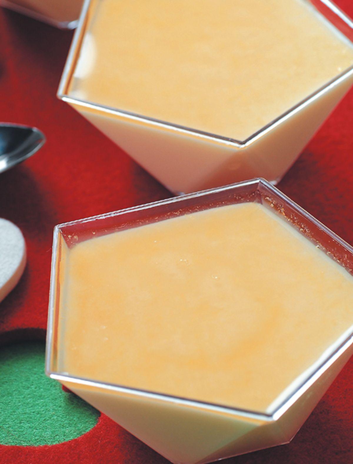 食譜:柳橙優格布丁