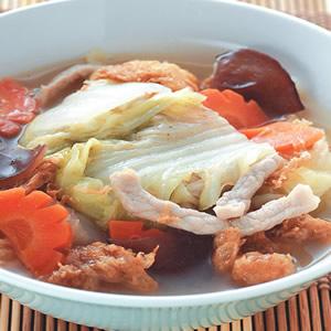蛋酥滷白菜(1)