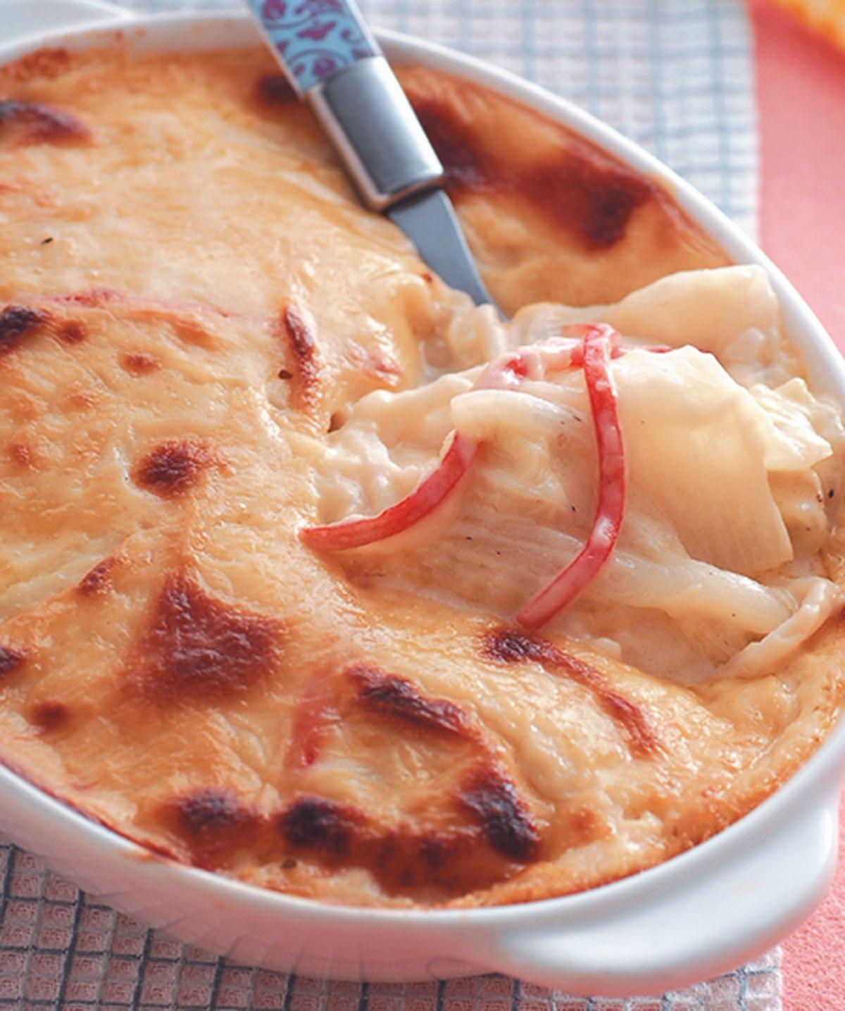 食譜:奶油焗白菜(2)