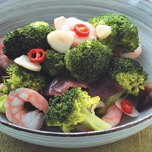 蝦仁炒花椰菜