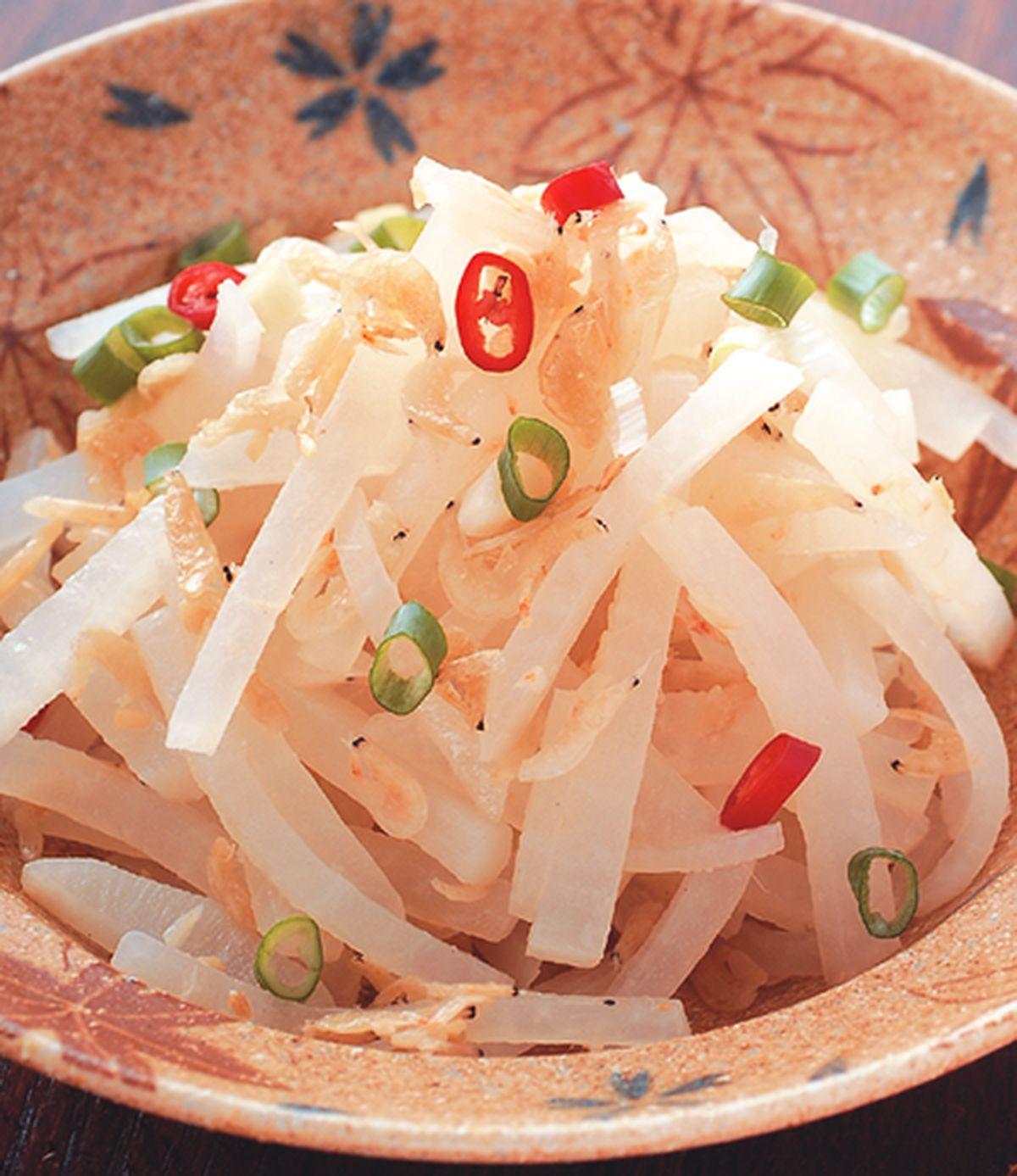 食譜:蝦皮炒蘿蔔絲