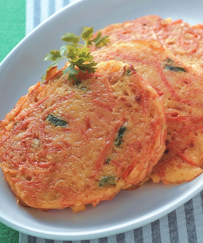 食譜:紅蘿蔔煎餅(1)