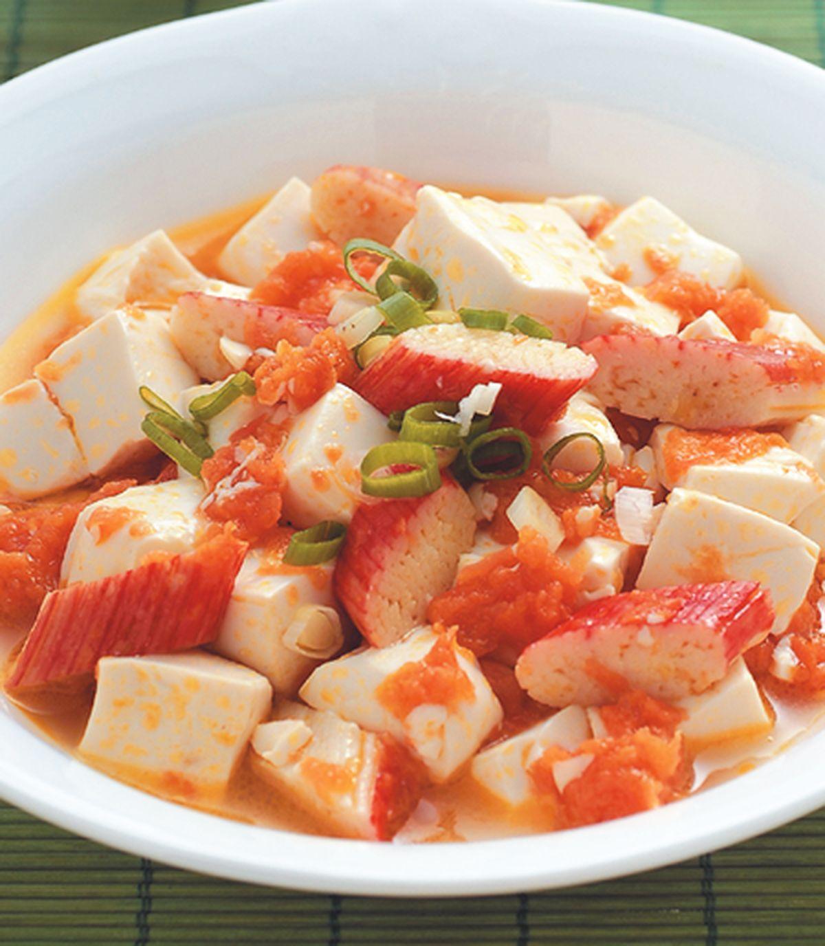 食譜:蟹黃豆腐(1)